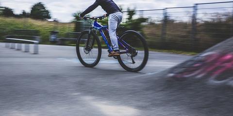 Fahrrad beschriften, Arbeitsblatt