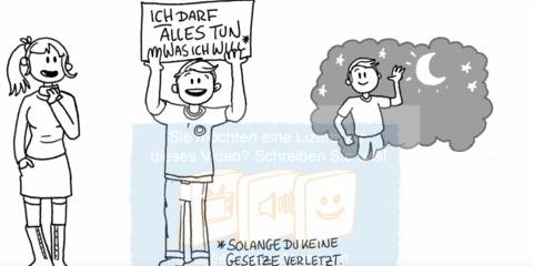 DaF DaZ Video Das Grundgesetz in einfacher Sprache erklärt