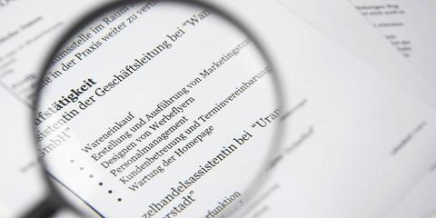 DaF DaZ Online-Übung Der tabellarische Lebenslauf