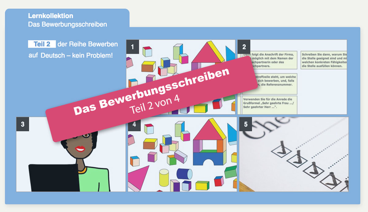 Das Bewerbungsschreiben Bewerben Auf Deutsch Ganz Einfach