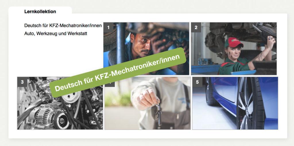 DaF DaZ Kurs - Deutsch für KFZ-Mechatroniker/innen