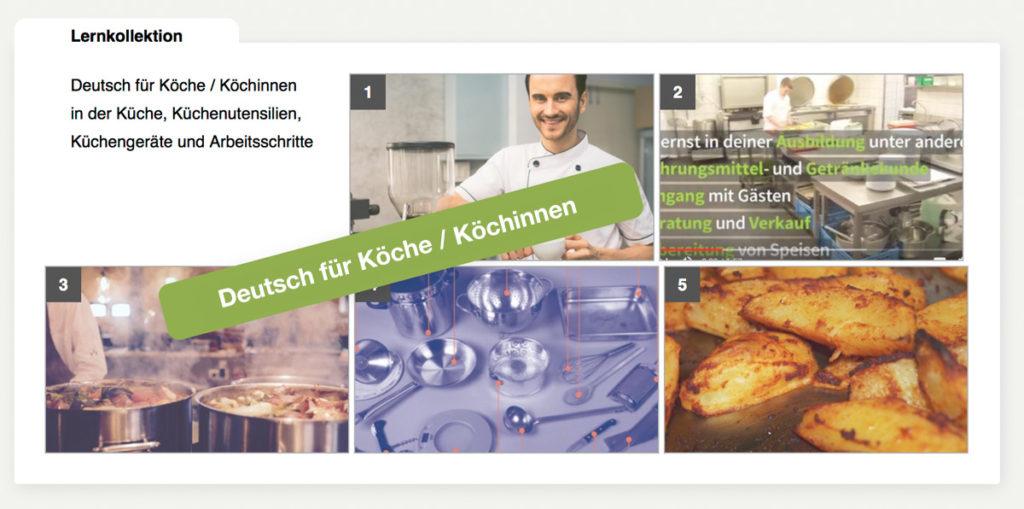 DaF DaZ Kurs - Deutsch für Köche / Köchinnen